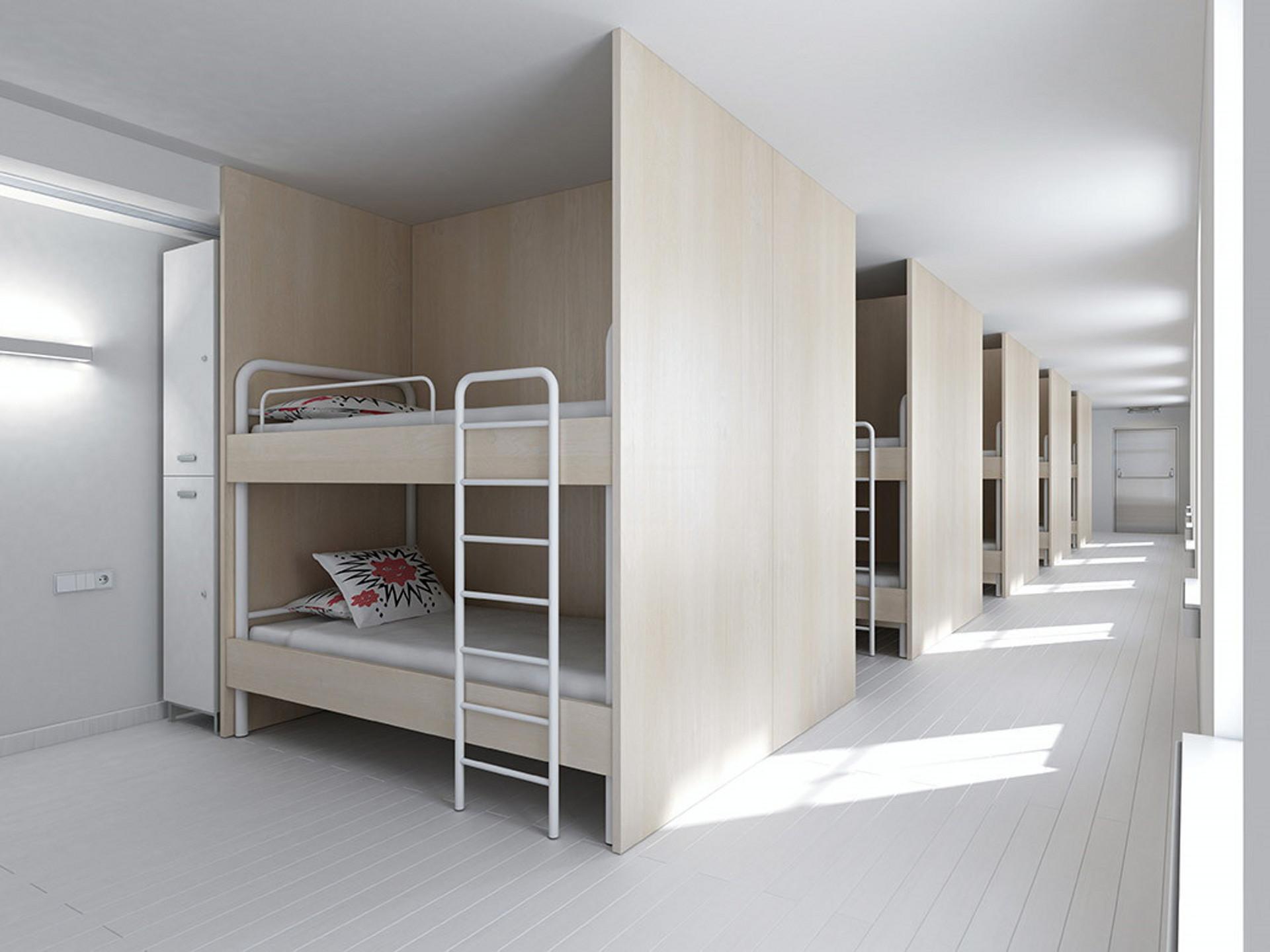 Mobiliario albergues