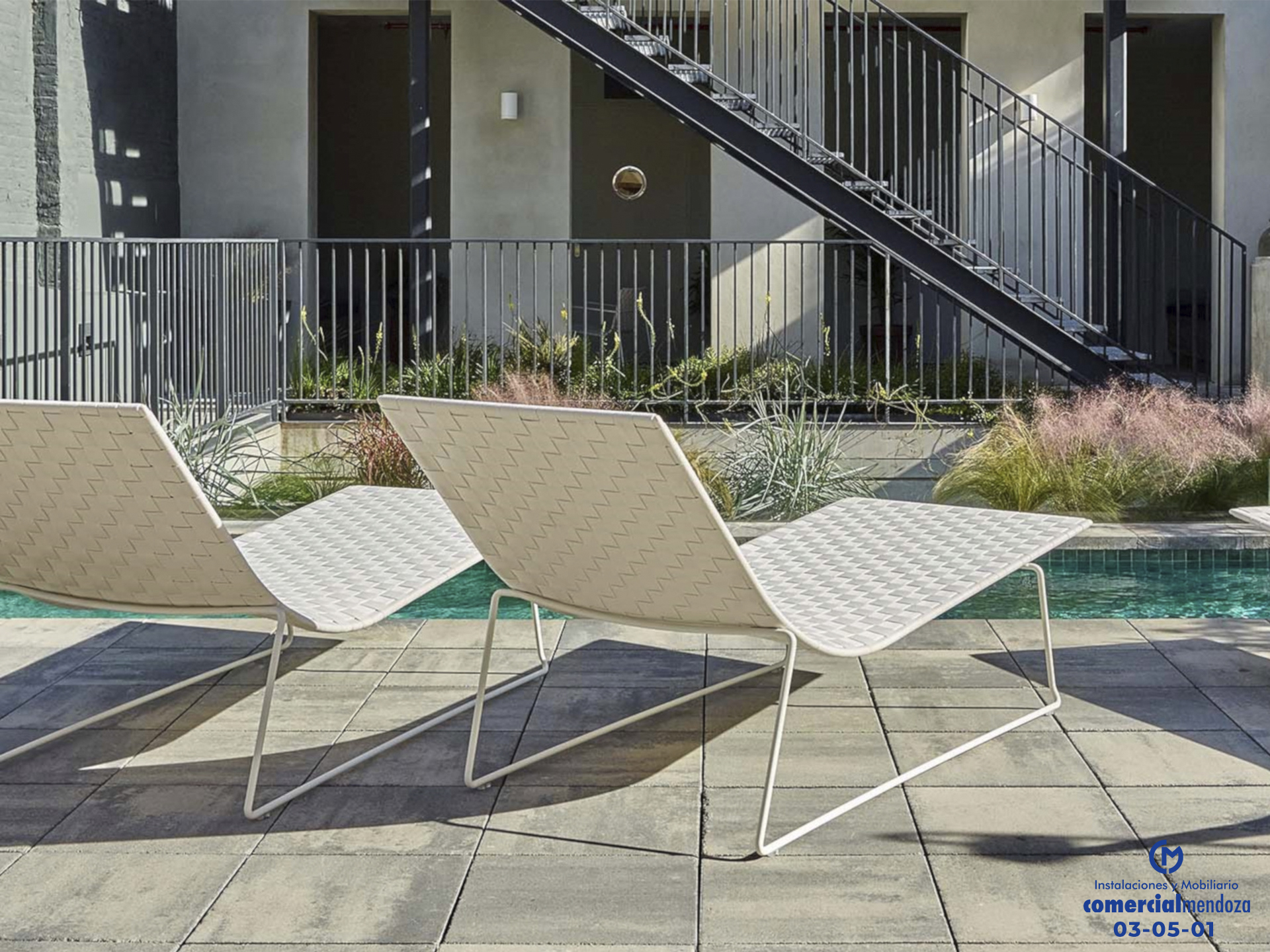 Mobiliarios tecnicos exterior